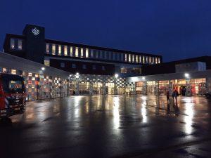 Burgemeester Herman Kaiser opent brandweerkazerne Arnhem