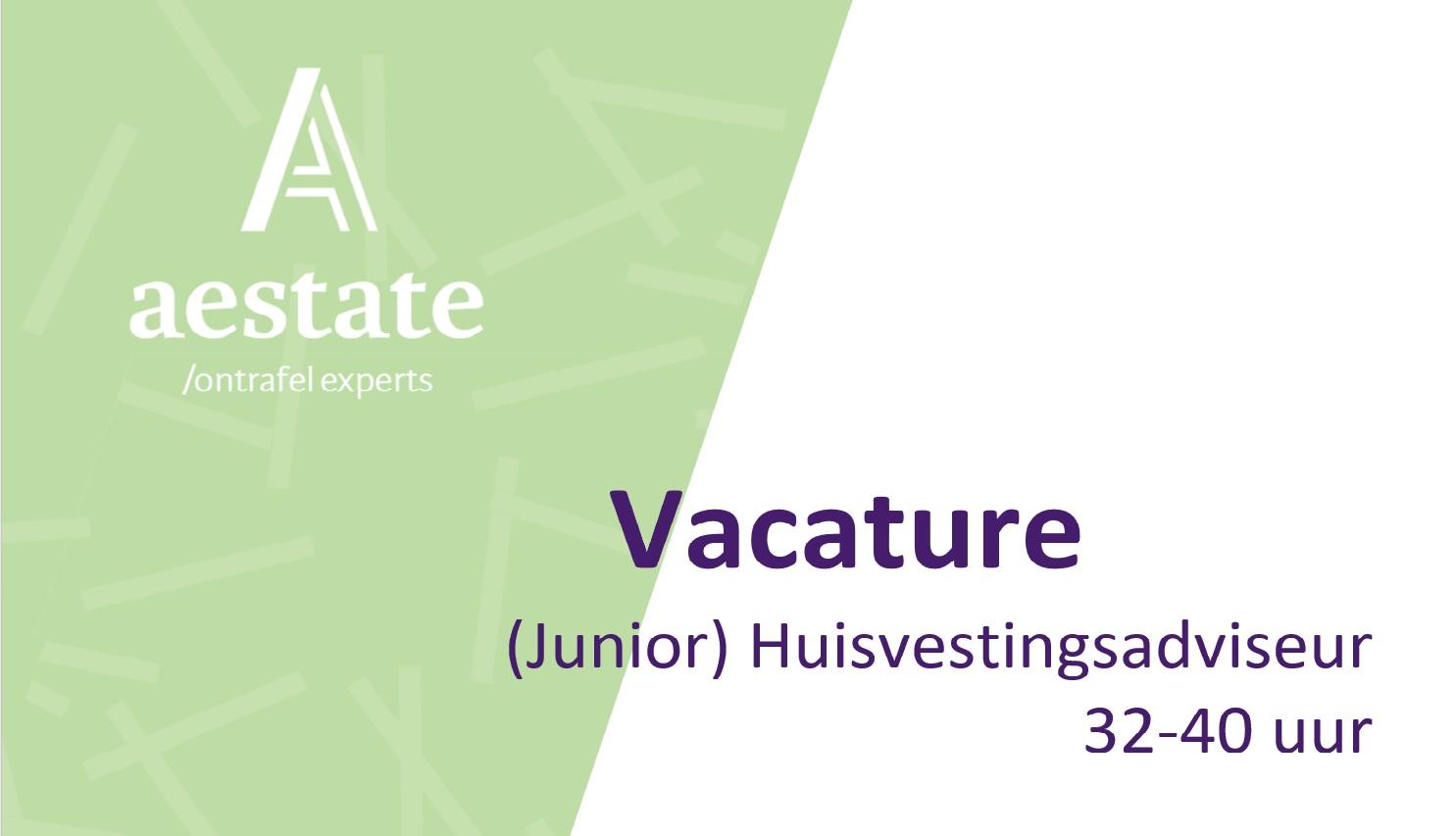 Vacature: (Junior) Huisvestingsadviseur
