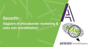Vacature marketing en sales