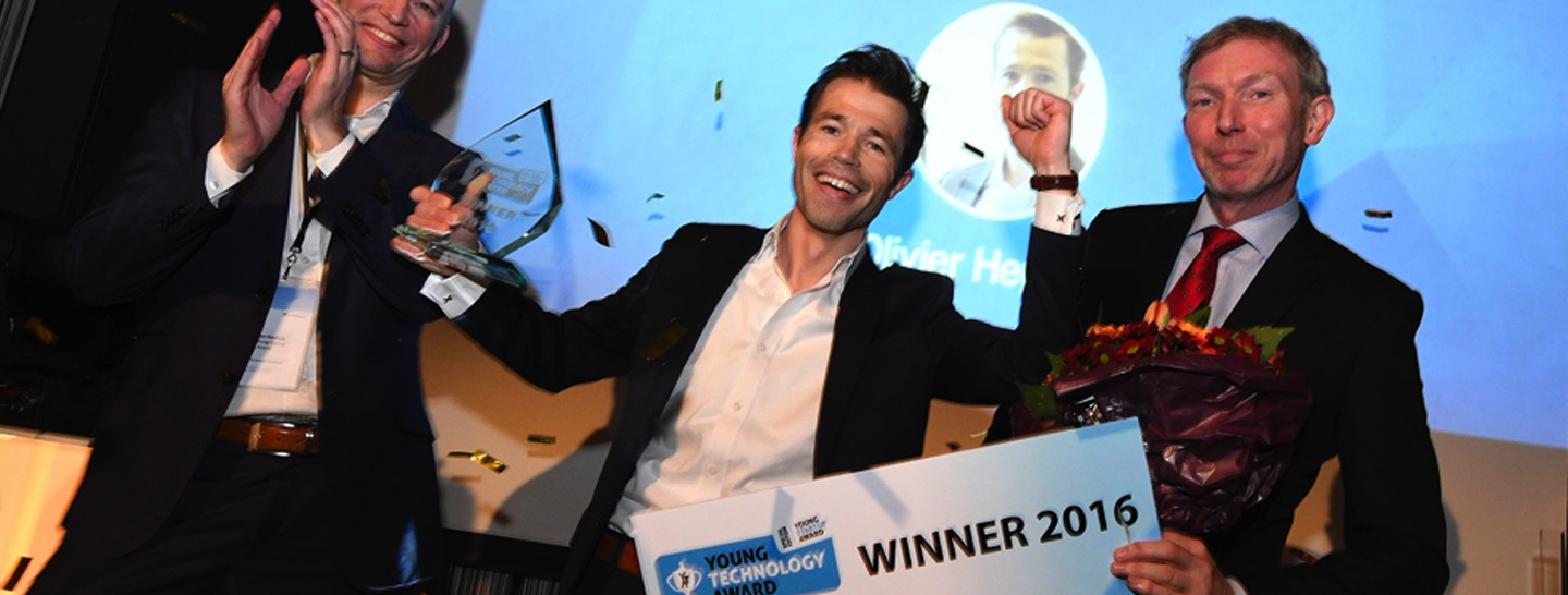 Aestate 2 Olivier Heyning wint met LUMICKS de Young Technology award 2016 2