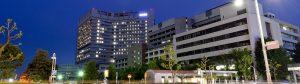 ziekenhuis in de nacht