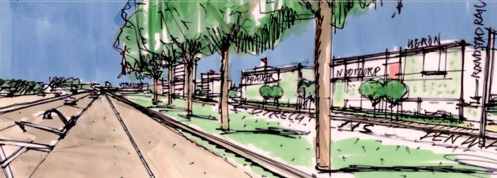 Artist impression Huis van Heron | uit: Beeldkwaliteitsplan Bedrijvenpark Heron | Aestate